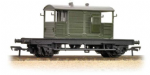 Bachmann Branchline 38-404 SR 25 Ton Pill Box Brake Van BR Departmental Olive Green